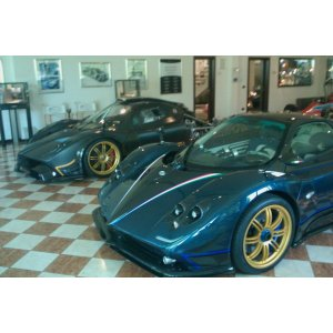 Zonda R and Tricolore