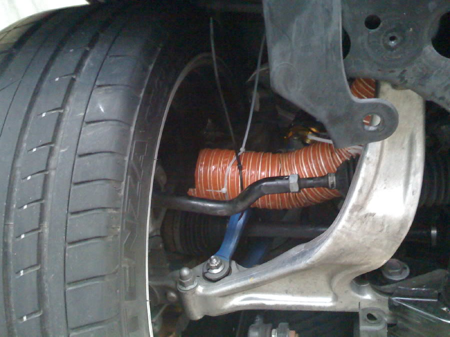 Neoseven's GT-R front brake ducting