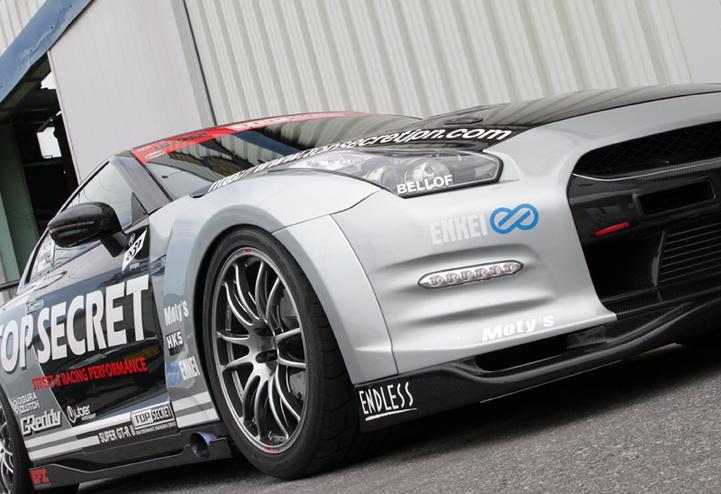 TopSecret GT R fenders 3