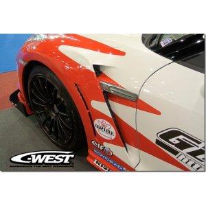 C West GT R Front Fenders 2