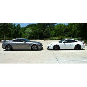 Nissan GTR And Porsche GT3