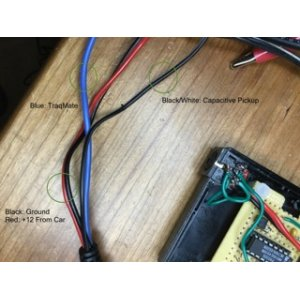 022. RPM pickup circuit board cables and use