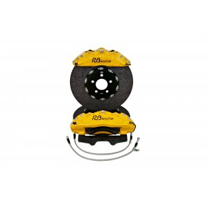 Front 6 Pot Carbon Ceramic Big Brake Kit