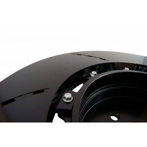 Two Piece Iron Rotor Kit Rear Ebrake Hat Liner