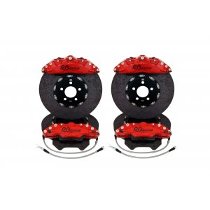 6/4 Pot Carbon Ceramic Big Brake (Red)