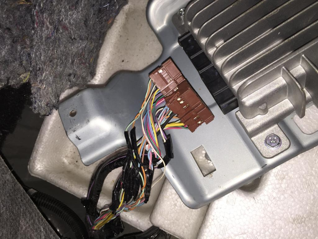 Bose Car Speakers >> R35 GTR Head Unit to Aftermarket Amplifier - DIY, Maintenance, Technical Support - Nissan GT-R ...