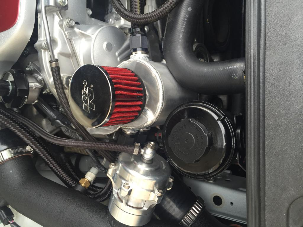 Georgia 1/2 mile intercooler/catch can and event update from