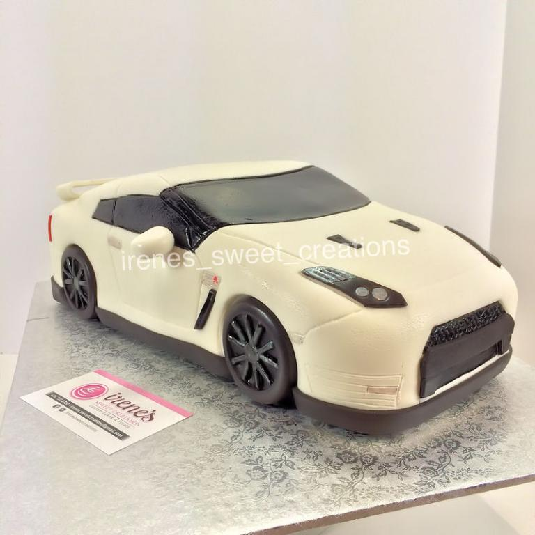 Nissan Birthday Cake
