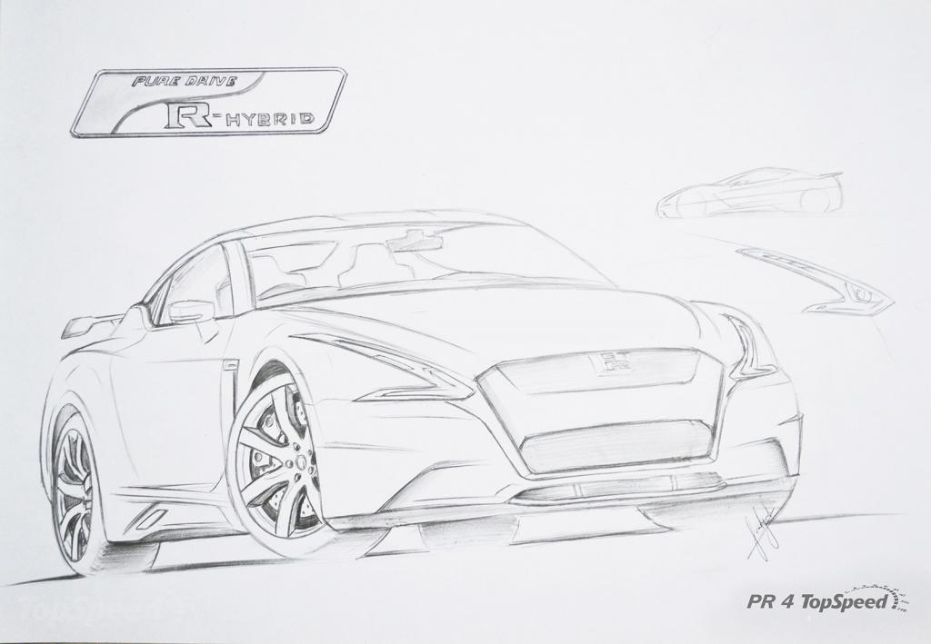 r36 2016 nissan gt-r - topspeed com  imagination with photoshop  - r35 gt-r