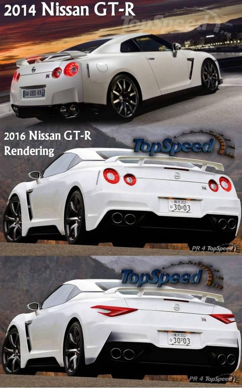 R36 2016 Nissan GT-R - TopSpeed.com (imagination with ...